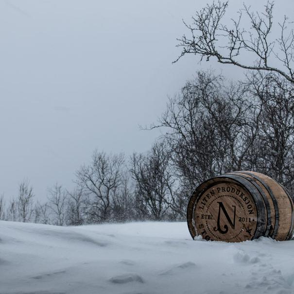 Barrica en invierno