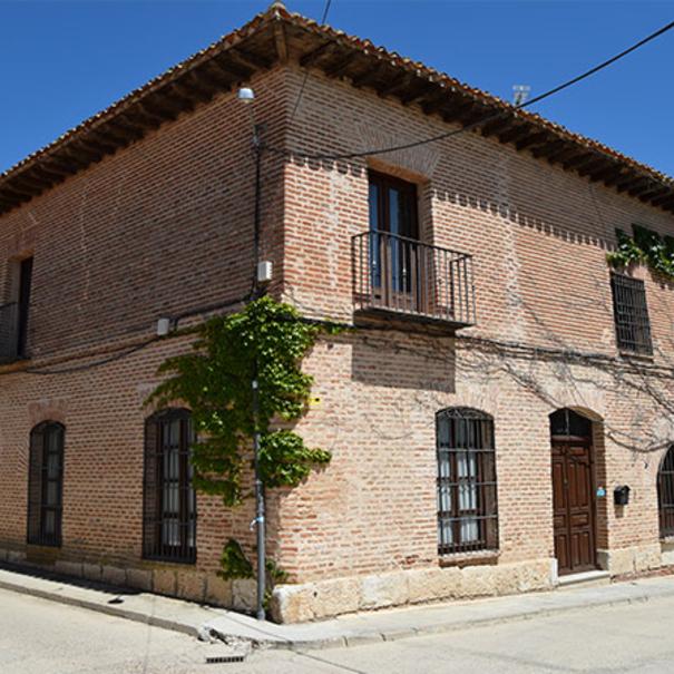 La bodega es una casa señorial del s. XVII en La Seca