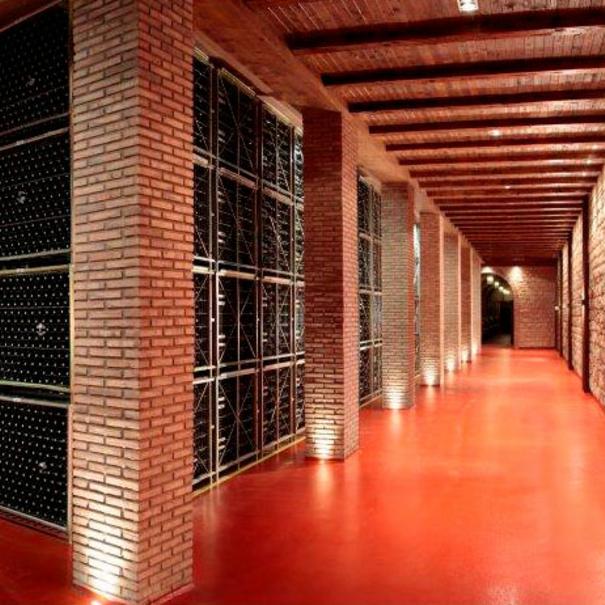 Interior de Bodegas Riojanas