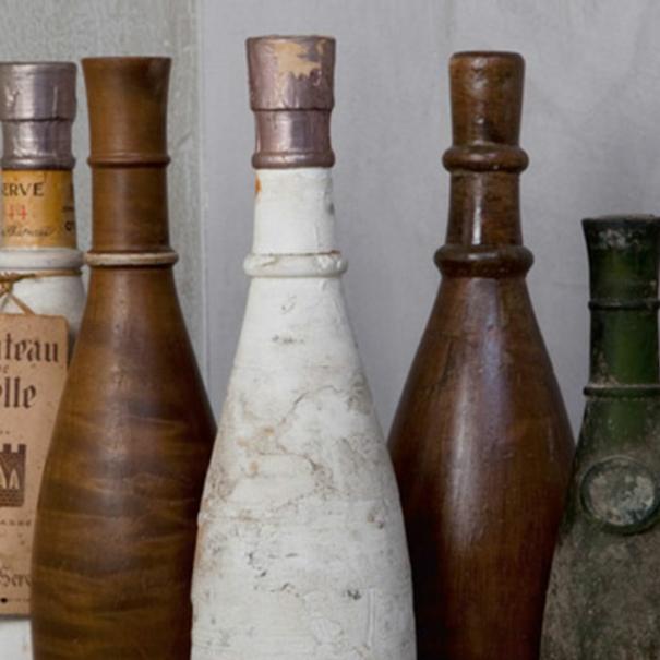 Icónica botella inspirada en una ánfora romana