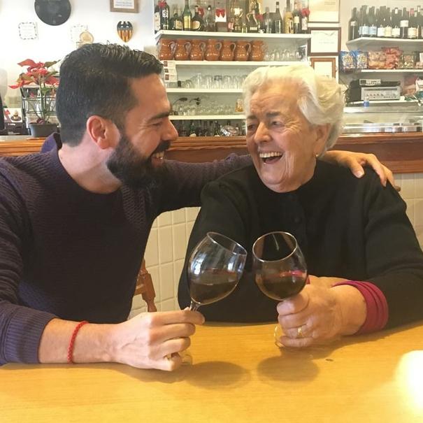 Bruno y su abuela, la Bruna