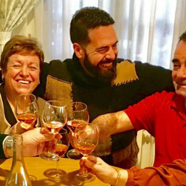Bruno y su familia