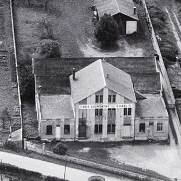 Fachada de la bodega en 1947