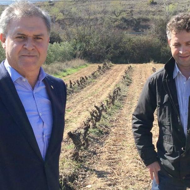 Óscar Montaña e Isaac Fernández Montaña