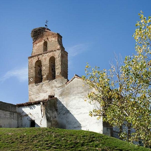 Imagen de la iglesia en Caserío de Dueñas