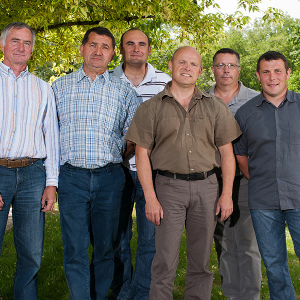 Algunos de los miembros de la junta directiva