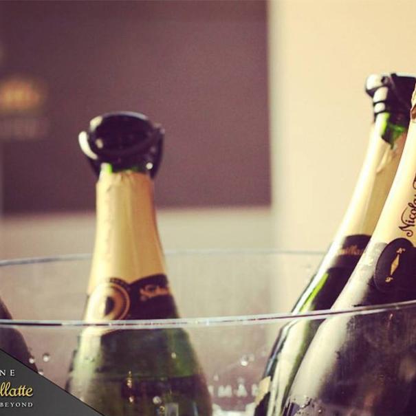 Botellas del Champagne más vendido en Francia