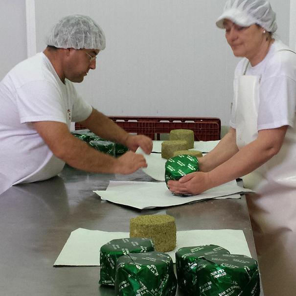 Elaboración de los quesos