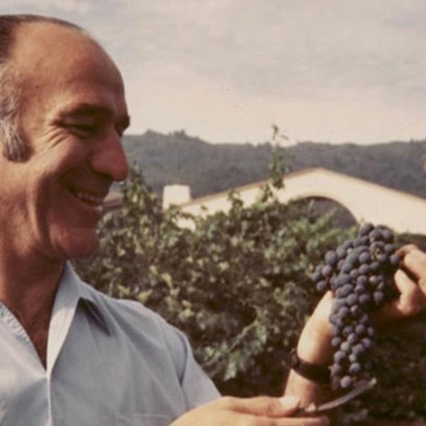 Robert Mondavi en una foto de archivo.