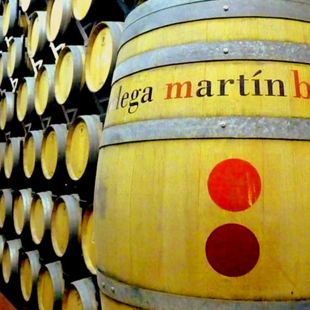 Barricas personalizadas de Martín Berdugo
