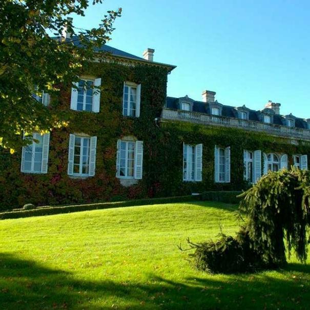 Fachada de Château Talbot