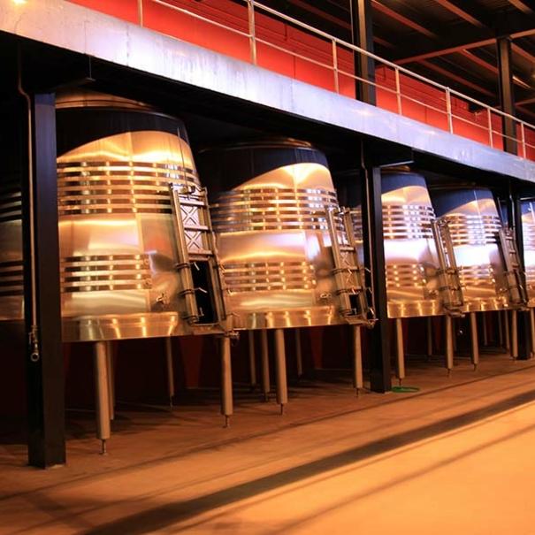 Tanques de fermentación de acero inoxidable troncocónicos
