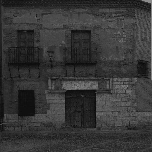 Fachada del Palacio de Frontaura