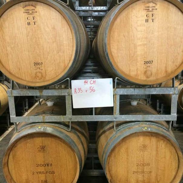 Barricas del Chardonnay