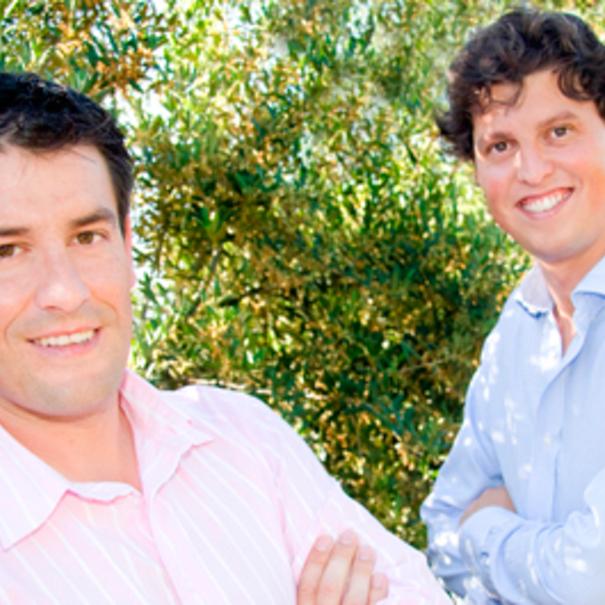 Juan Antonio Leza y Patricio Villalba