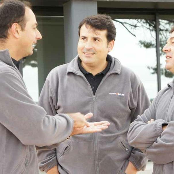 Marc, Pablo y Rafa