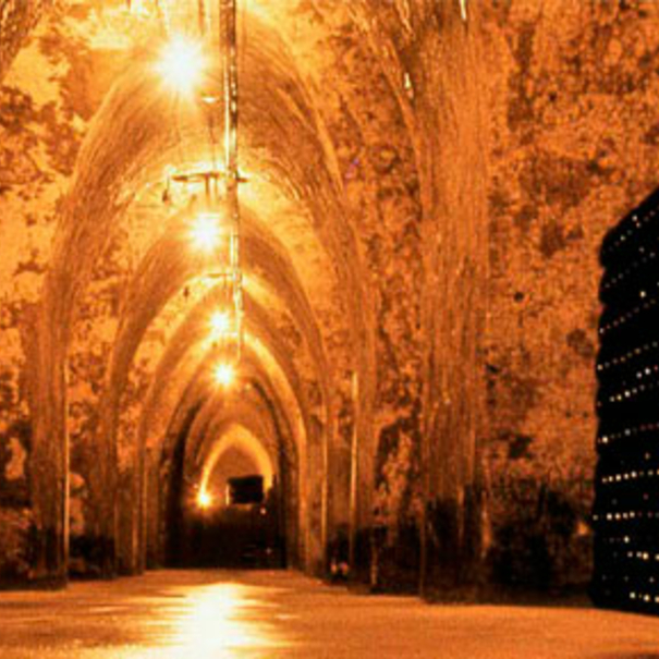 Interior de las cavas