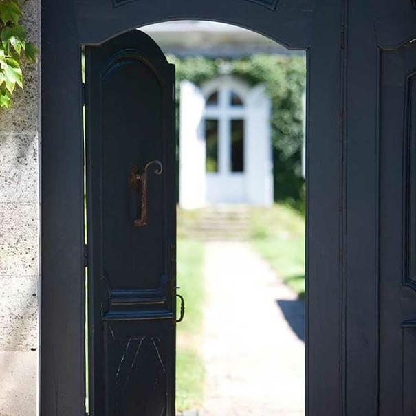 Puerta de entrada a Château Talbot