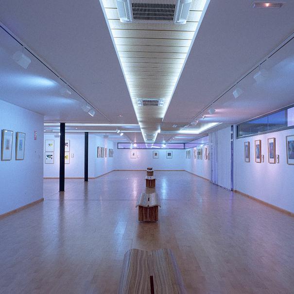 Sala de arte en Bodegas Enate