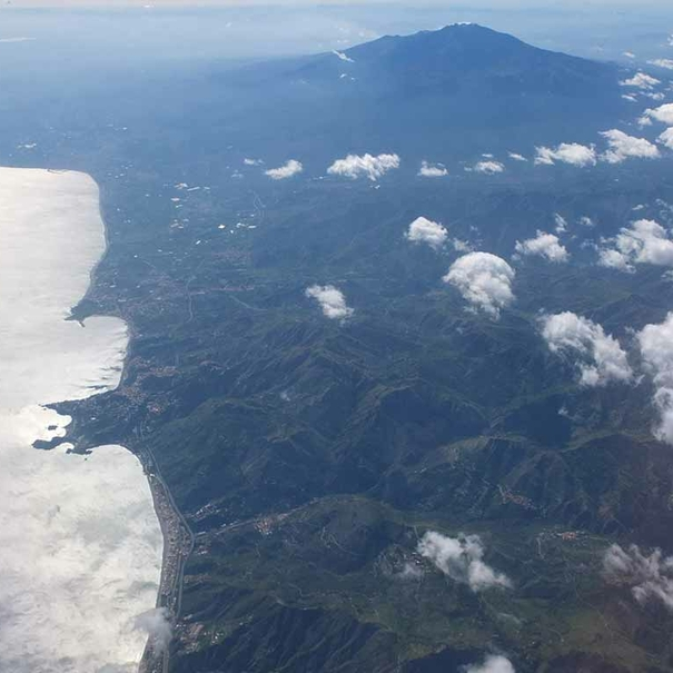 Sicilia desde el aire