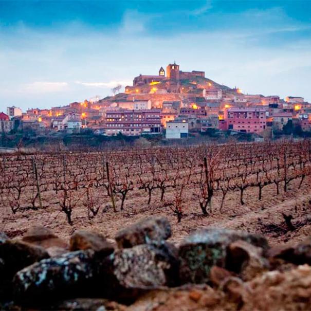 Vista de la localidad de San Vicente de la Sonsierra