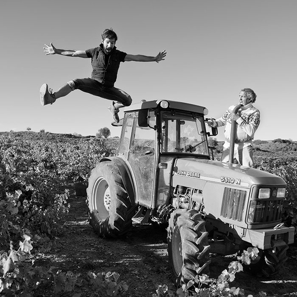 Trasteando con el tractor