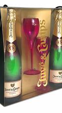 Estuche De 2 Botellas De Juvé & Camps Cinta Púrpura Reserva+2 Copas