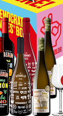 Pack Democratic Wines (6 Bot. + 6 Copas)