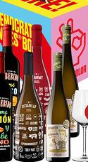 Pack Democratic Wines (6 Bot. + 6 Copas)