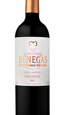 Benegas Single Vineyard Sangiovese