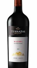 Terrazas De Los Andes High Altitude Vineyards Malbec 2014
