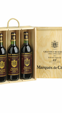 Pack Añadas Míticas De Marqués De Cáceres (x3)