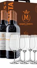 Pack Marqués De Murrieta Reserva 2014 (x6) + 6 Copas Zwiesel